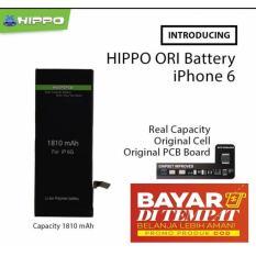 Hippo Baterai Double Power Iphone 6 1810mAh Original - Real Capacity - Garansi Resmi 1 Tahun
