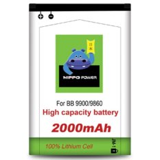 Jual Beli Hippo Baterai Double Power Jm 1 Blackberry Dakota 9900 2000Mah Batre Bb