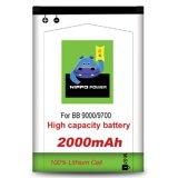Spek Hippo Baterai M S1 Blackberry Bold Onyx 9000 9700 2000Mah Baterai Bb Hippo