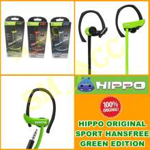 Hippo Handsfree Earphone Hip Hijau Headphone In Ear DKI Source · Hippo Handsfree Sport Headset Sport Sport Handsfree Stereo Jack 3 5mm Universal Hijau