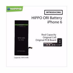 Harga Hippo Original Battery For Iphone 6 1810 Mah Premium Cell Quality Original