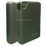 Hippo Power Bank Bronz X 10 000Mah Real Capacity Grey Murah