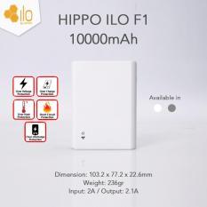 Hippo Powerbank Ilo F1 10000mAh - Putih