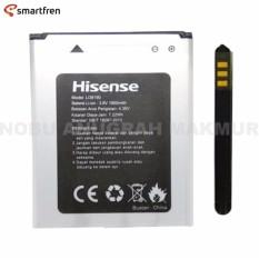 Hisense Baterai Andromax U2 Original Li-ion Battery Model : Li38170A Kapasitas 1700mAh. voltage 4.2V watt-hour rating : 6.46Wh kompatibel For Smartfren Andromax U2