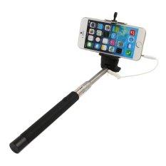 HKS AUkEy Remote Shutter Monopod untuk Outerdoor Tripod untuk Iphone (Hitam)