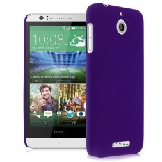 HKS Plastik Keras Snap On Back Kulit Case Cover Frosted untuk HTC Desire 510 Ungu-Intl