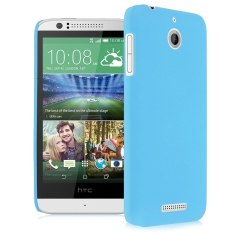 HKS Plastik Keras Snap On Back Kulit Case Cover Frosted untuk HTC Desire 510 Langit Biru-Internasional