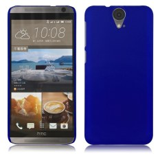 HKS Plastik Karet Karet Back Case Cover Slim Shell untuk HTC One E9 Plus (A55) Dark Blue-Intl