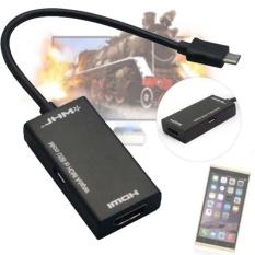 HLL MHL Micro USB Ke HDMI HD TV Kabel Adaptor untuk Smartphone Samsunggalaxy Note S2 HTC Sensation Flyer USB OTG -Intl