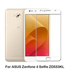 HMC Asus Zenfone 4 Selfie / ZD553KL Tempered Glass - 2.5D Full Screen - Lis Putih
