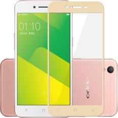 HMC Oppo A39 - 2.5D Full Screen Tempered Glass - Lis Emas