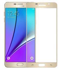 Diskon Hmc Samsung Galaxy A9 Pro 2016 A9 2 5D Full Screen Tempered Glass Lis Emas Branded