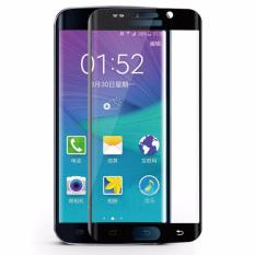 Jual Beli Hmc Samsung Galaxy S6 Edge 3D Curved Full Cover Tempered Glass Lis Black