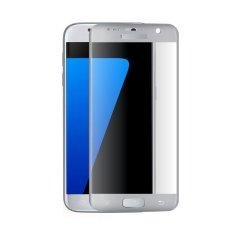 Jual Hmc Samsung Galaxy S7 3D Full Screen Tempered Glass 2016 Curved Lis Silver Original