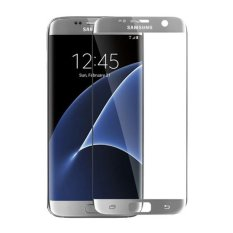 Beli Hmc Samsung Galaxy S7 Edge 3D Full Screen Tempered Glass 2016 Curved Lis Silver Cicil