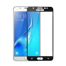 Spesifikasi Hmc Tempered Glass Full Cover Colour For Samsung Galaxy A5 2016 A510 Black Terbaik