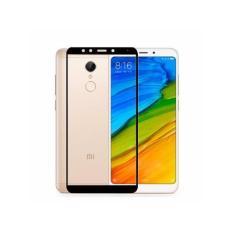 HMC Xiaomi Redmi 5 Plus - 2.5D Full Screen Tempered Glass - Lis Black