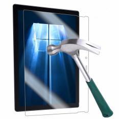 Jual Hms Tech Microsoft Surface Pro 4 12 3 Tempered Glass Screen Protector 9H Hardness Anti Scrach 2 5D Round Edge Film Intl Lengkap