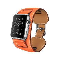 Hoco 3 in 1 Package Leather Band for Apple Watch 42mm - Oranye