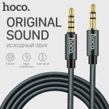 Jual Hoco Aux Cable With Microphone 3 5Mm Jack Male To Male Audio Cable Jack 3 5 For Car Iphone Mp3 Mp4 Headphone Speaker Hoco 3 5Mm Stereo Aux Cable Upa04 Hoco Online