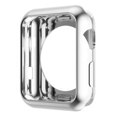 Hoco Electroplating TPU Case for Apple Watch 42mm - Silver