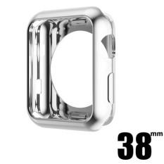 HOCO untuk Apple Watch Series 2/3 38mm Lembut Silicon Colorful Elektroplating Bingkai Pelindung untuk Apple Watch Series 2 3 TPU Shinning Case-Intl