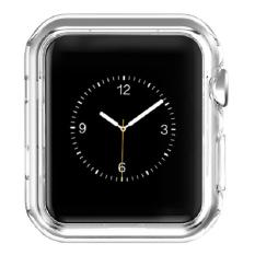Hoco Transparent Silicone TPU Protective Case for Apple Watch 38mm - Clear