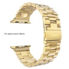 Hoco Watch Band Stainless Steel Watchband with Safety Folding Clasp for Apple Watch 38mm - intl