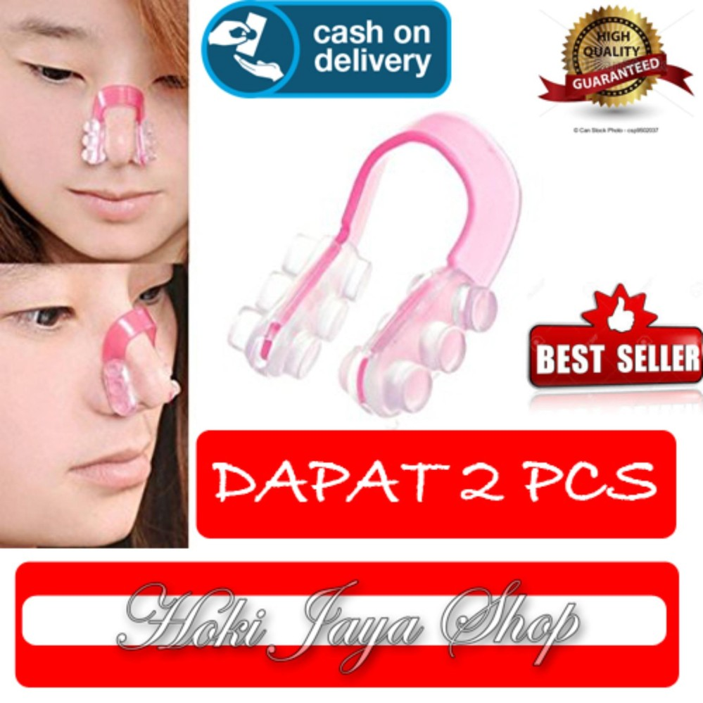 HOKI COD - Nose Up Clipper- Pemancung Hidung Alami - 2 Pcs
