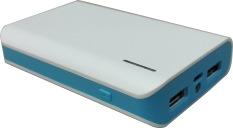 Beli Hoky Power Bank 12000 Mah White List Blue Pakai Kartu Kredit