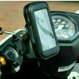 Holder Motor Braket Hp Gps Pasang Di Spion Waterproof Up To 5 5 Inch Di Yogyakarta Diskon