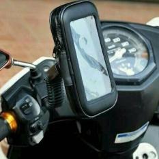Spesifikasi Holder Motor Braket Hp Gps Pasang Di Spion Waterproof Up To 5 5 Inch Multi Terbaru