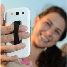 Holder Smartphone Jari Anti Slip - Black
