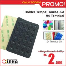 Holder Tempel Gurita Gojek Online HP Perekat 3M Car Holder - 24 Tentakel