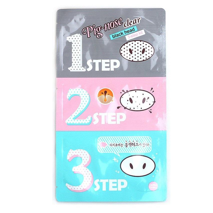 Jual Beli Holika Pig Nose Clear Black Head Hilangkan Komedo 3 Step Kit 1 Pcs Indonesia