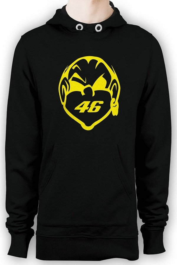 Harga Hollic Cloth Hoodie Vr 46 Hitam Origin