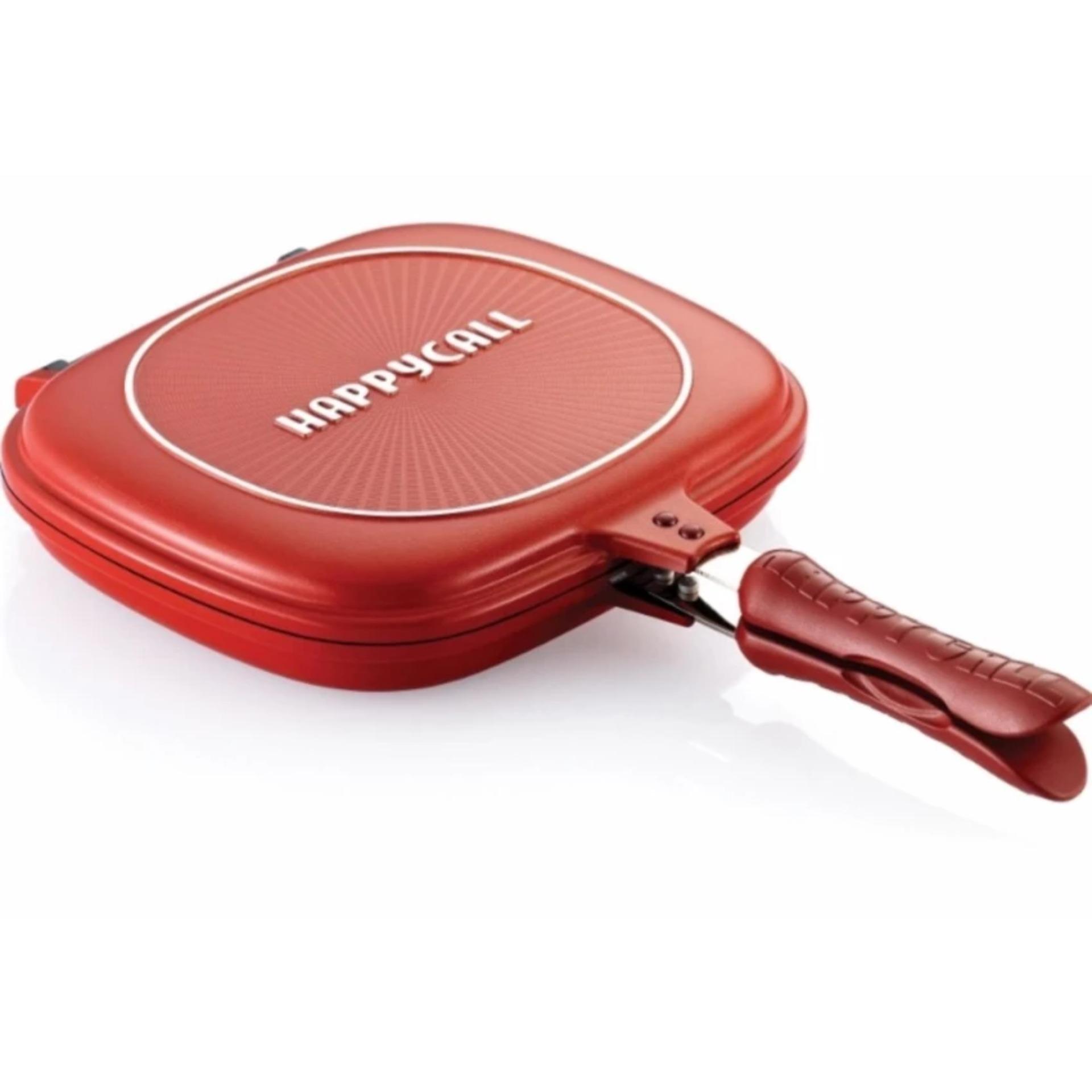 Home-Klik Double Pan - 32 cm - Merah