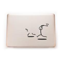 HomeGarden Makhlukjelek Stiker For Pembunuh Kulit MacBook Laptop