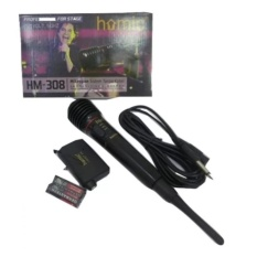 Beli Homic Microphone Mic Single Weriless Hm308 Hitam Homic Online