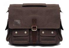 Jual Honx Tas Kamera Slempang Sling Bag Messenger Bag Hnx 006 Cokelat Grosir