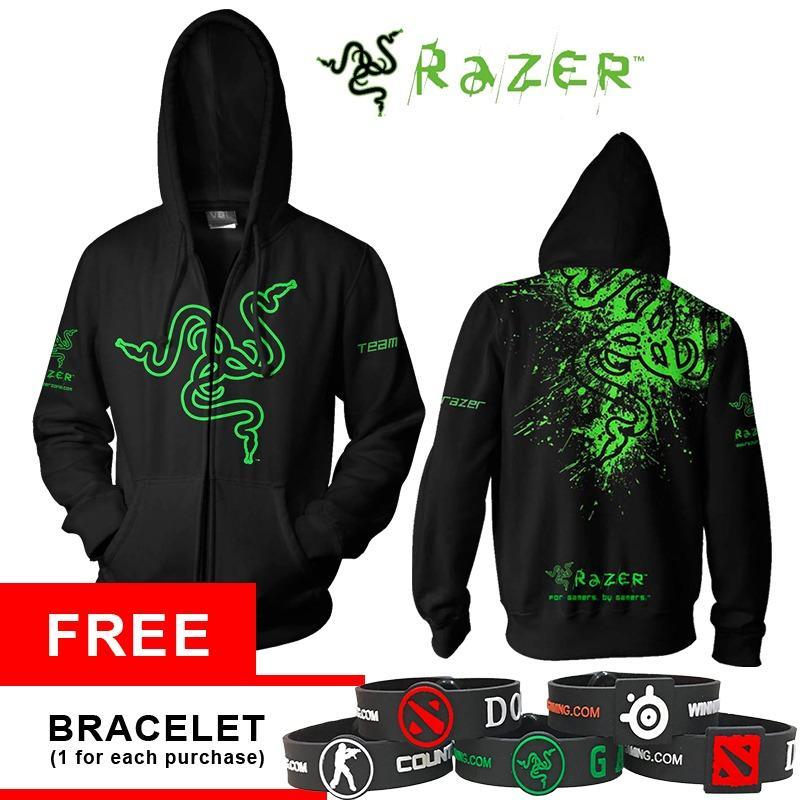 Beli Hoodie Razer V3 Apparel Gaming Store Murah