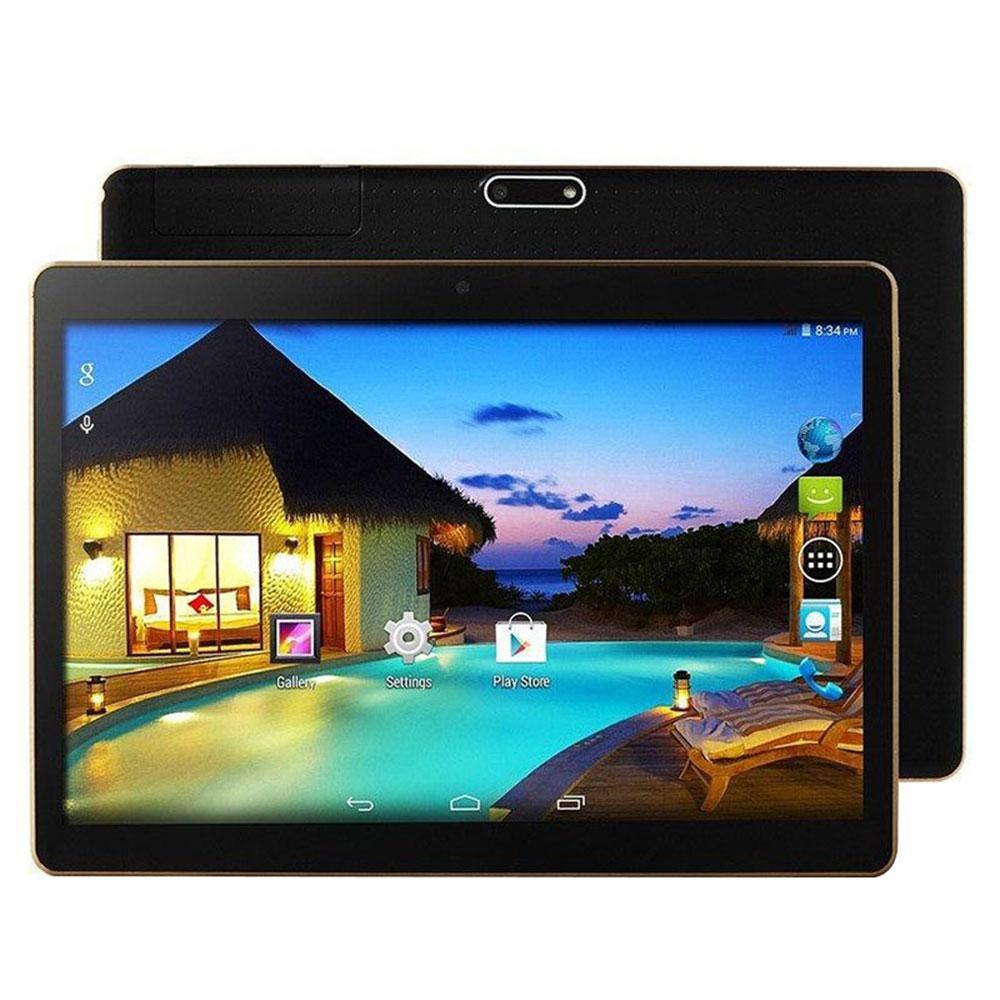 HOT! 10 ''Android 5.1 4 + 64G Dual SIM 8MP Kamera Bluetooth WIFI Tablet EU Plug-Intl