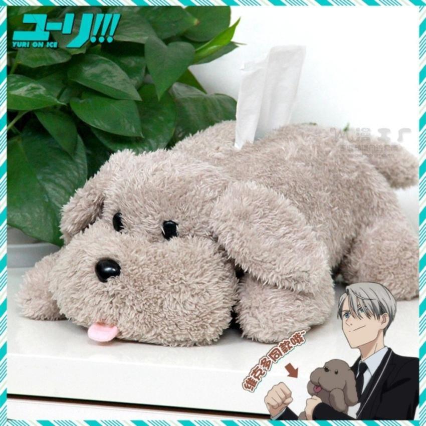 Toko Hot Anime Yuri Di Ice Victor Makkachin Poodle Dog Kertas Boxplush Tissue Box Intl Lengkap
