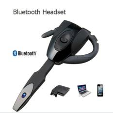 HOT EX-01 Ear Hook Wireless Stereo headphone Bluetooth Headset Earphone Handsfree untuk Smartphone Tablet PC Telepon dengan MIC Bluetooth Earphone (Warna: Hitam)-Intl