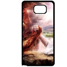 Hot For Samsung Galaxy NOTE 5 Tpu Phone Case Cover(jesus vs devil) 3472484ZE942944821 NOTE5 Design for Fashion Unique BT-SB personality case - intl