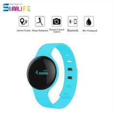 Hot Jual HIPERDEAL H8 Bluetooth Smart Kebugaran Sehat Gelang Langkah Sport Tidur Tracker Multi Bahasa Bluetooth Jam Tangan-Intl