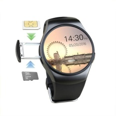 KW18 Smart Watch SIM TF MTK2502 Denyut Jantung Monitor SmartwatchTouch  Layar Bluetooth Jam Tangan 9b5311a2a1