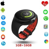 Model Hot Mtk6580 Lemfo Les1 Bluetooth Smartwatch With Sim Card Andsupport Gps Wifi Heart Rate And Pedometer Intl Terbaru