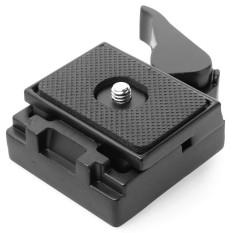 Hot Sale Kamera Adaptor Rilis Cepat QR Plate Adaptor Rilis Cepat Plate Premium Kokoh Karet Pad Aluminium Mount Tripod Manfrotto 200PL-14-Intl