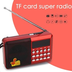 Hot Jual Aksesoris Teknologi QAM FM Tuner Band Receiver FM Radio Portabel Mini 3 W DC 5 V MP3 Data Sync-Intl